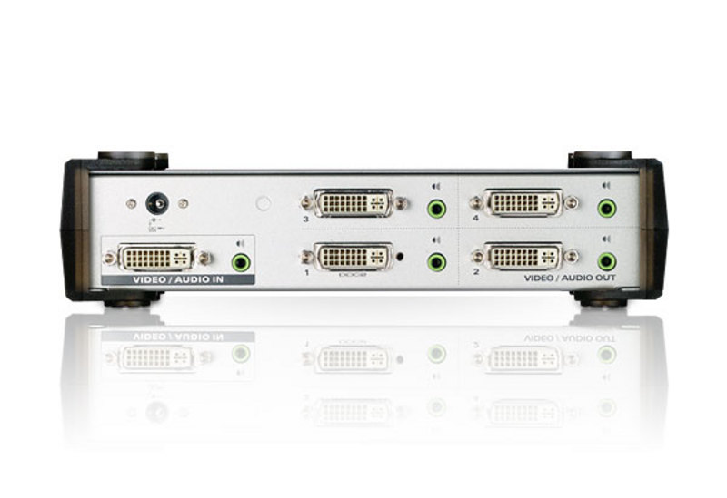 4-Port DVI/Audio Splitter-2