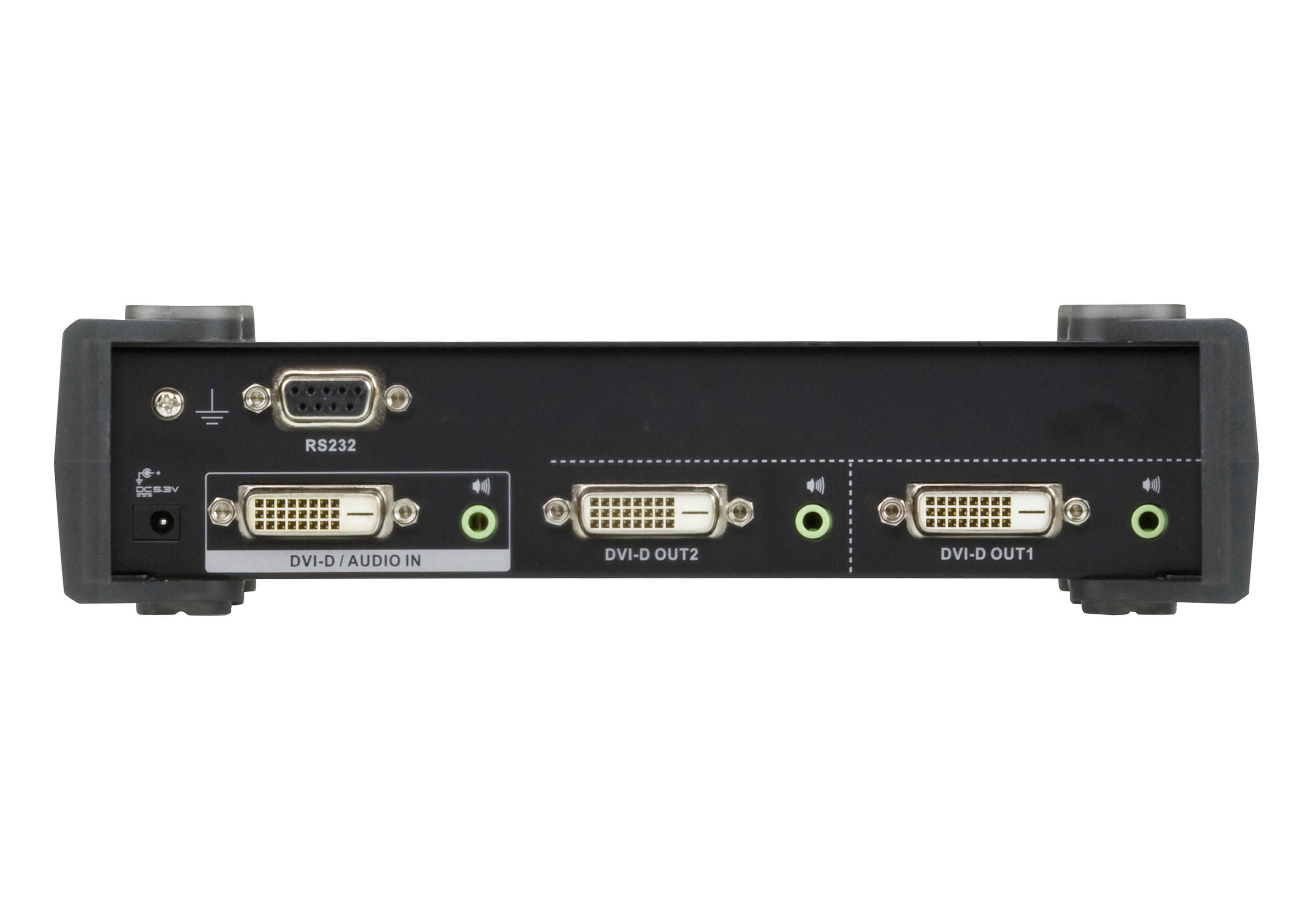 2-Port DVI Dual Link/Audio Splitter-2