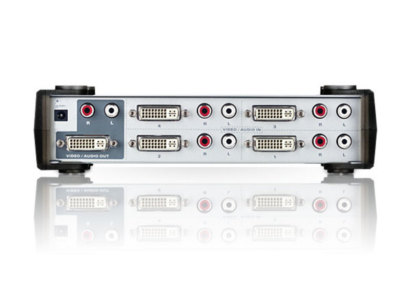 4-Port DVI/Audio Switch-2