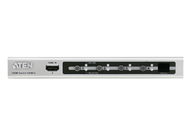 4端口HDMI影音切换器-3