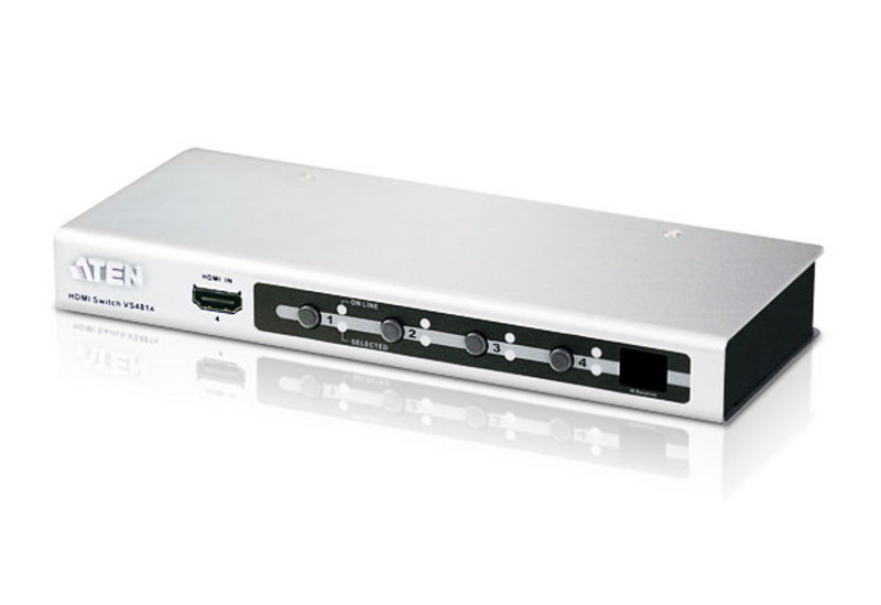 Switch HDMI com 4 portas-1