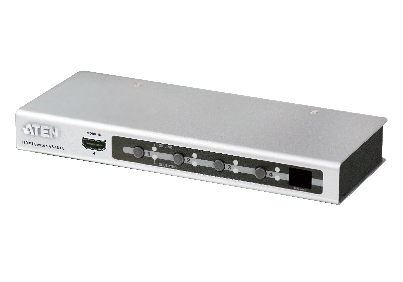 4端口HDMI影音切换器-1