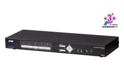 4-Port USB DVI Multi-View KVMP™ Switch