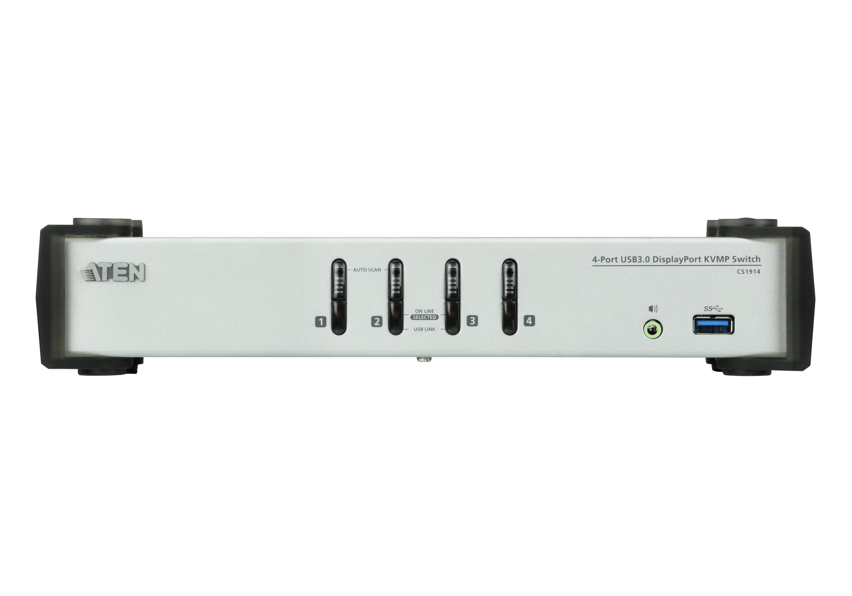 Switch USB 3.0 DisplayPort KVMP™ de 4 Portas (Cabos incluídos)-3