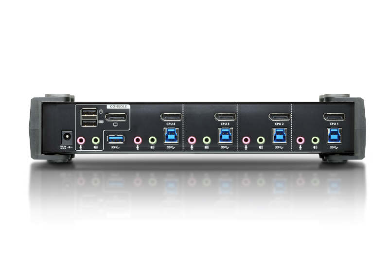 4-Port USB 3.0 4K DisplayPort KVMP™ Switch (Cables included)-2
