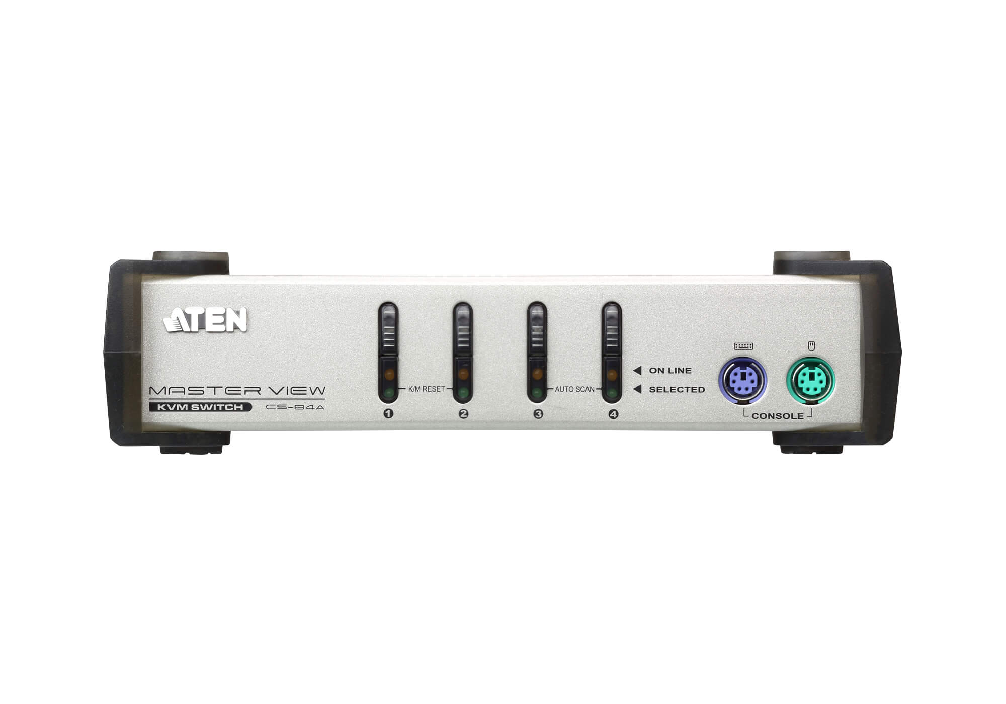4-Port PS/2 VGA KVM Switch-3