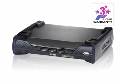 USB DVI-I Dual Display KVM Over IP Receiver