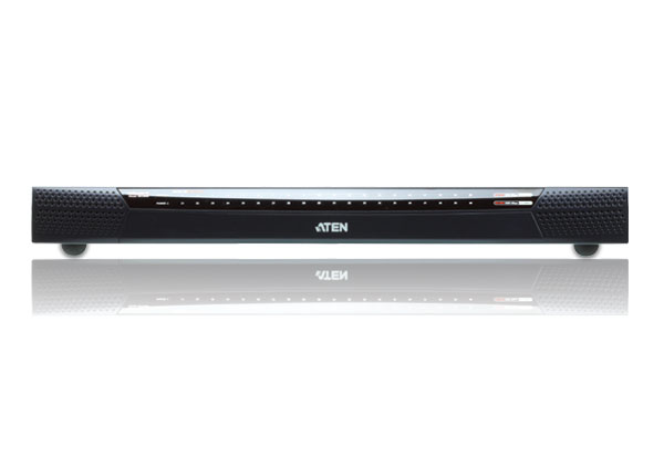 1 acesso local/2 remoto Switch KVM de 40 portas Cat 5 sobre IP com Suporte Virtual (1920 x 1200)-3