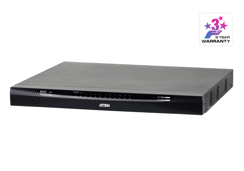 1ローカル/4リモートアクセス 24ポートカテゴリ5e IP-KVMスイッチ(バーチャルメディア対応、1,920×1,200)-1