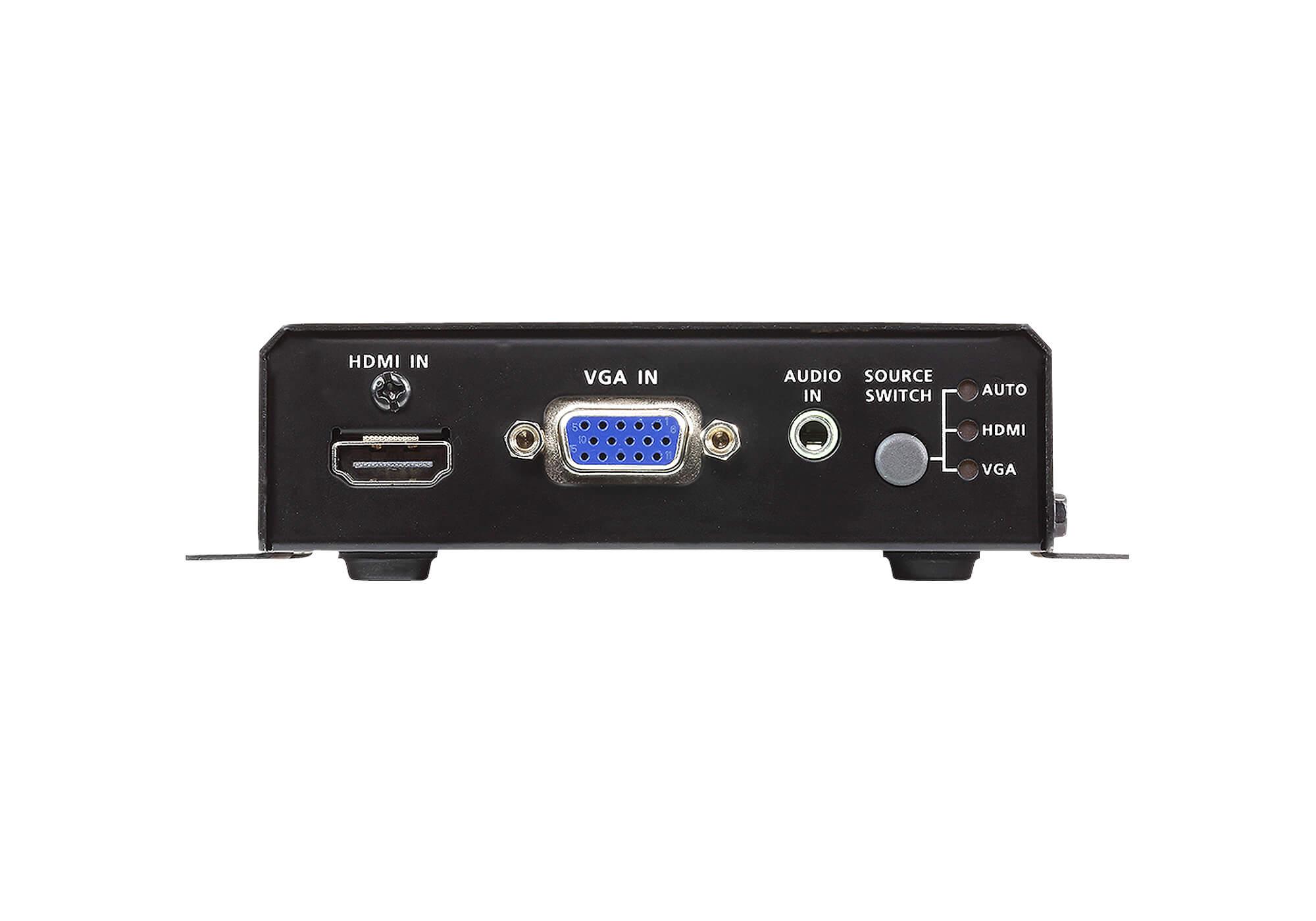 HDMI & VGA ツイストペアケーブルトランスミッター(4K対応)-3