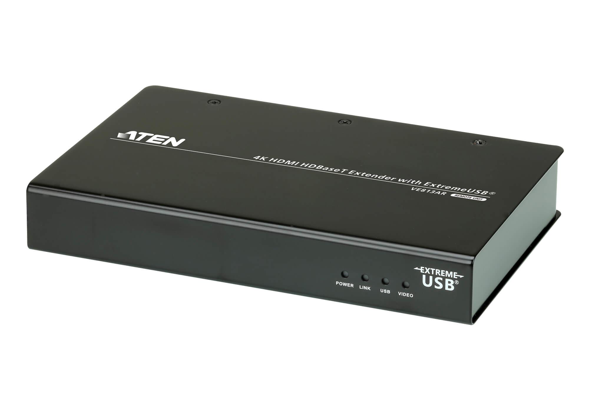 HDMIツイストペアケーブルエクステンダー(4K USB対応)-5