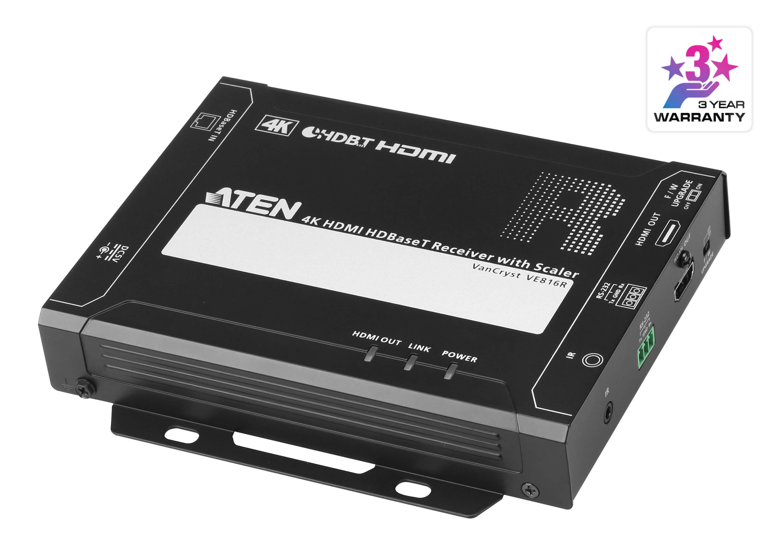 HDMI HDBaseT レシーバー(4K スケーラー内蔵)-1