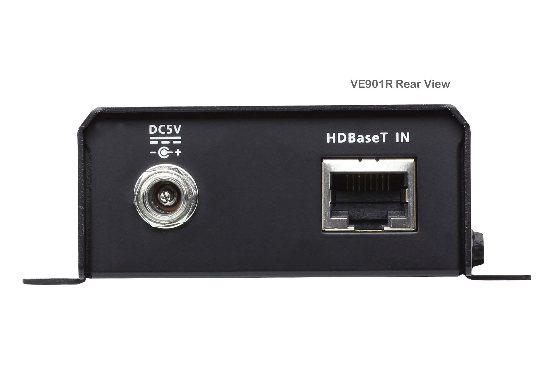 DisplayPort HDBaseT-Lite Receiver (4K@40m; 1080p@70m)-3