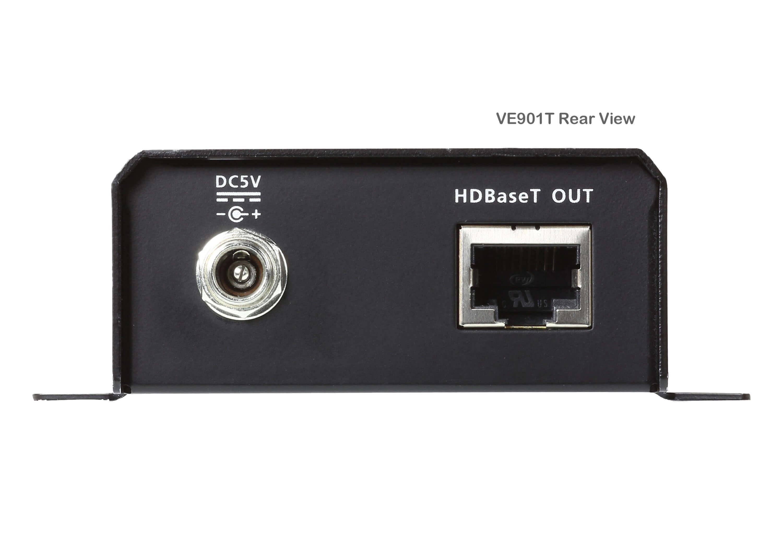 DisplayPort HDBaseT-Lite Transmitter (4K@40m; 1080p@70m)-3