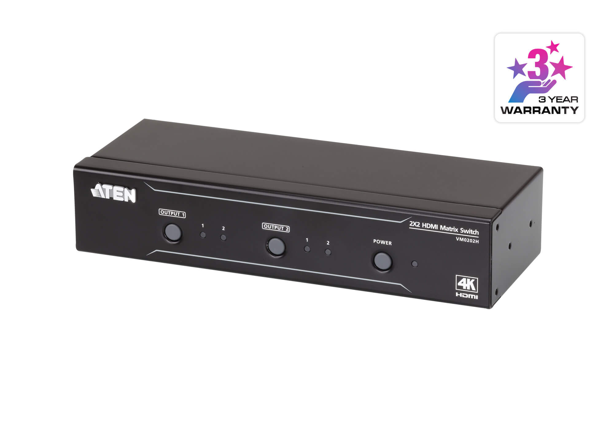 2x2 4K HDMI Matrix Switch-1