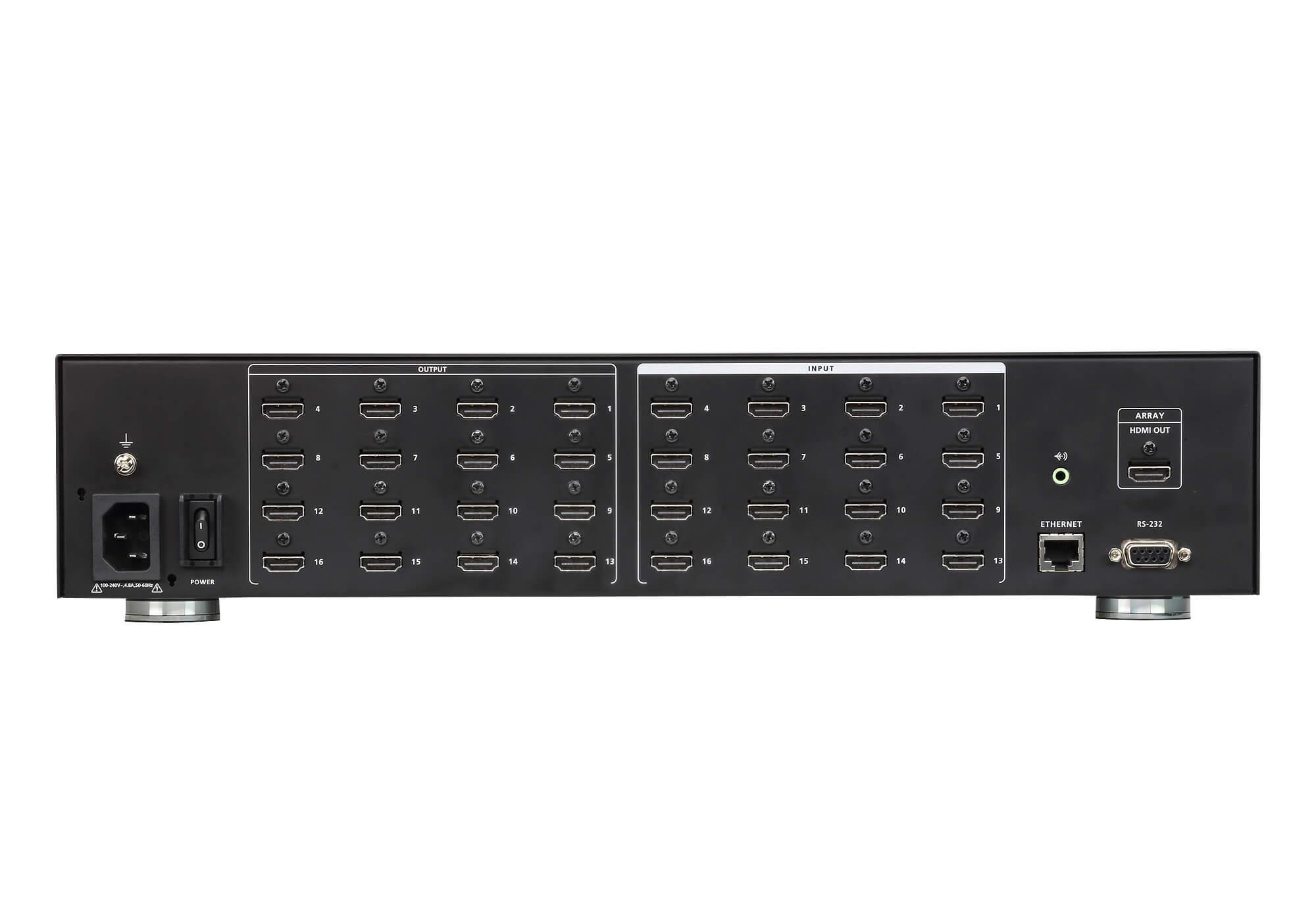 16入力16出力HDMIマトリックススイッチャー(ビデオウォール対応)-2