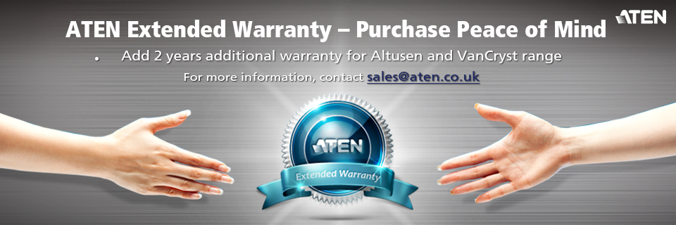 Click to purchase your 2 years extended warranty
