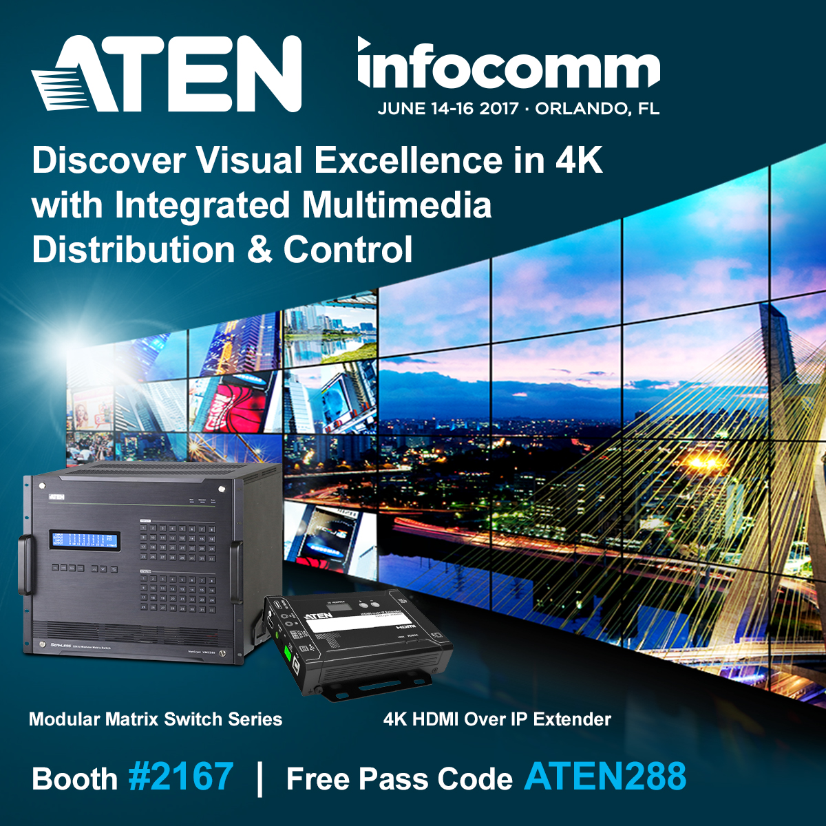 ATEN at InfoComm2017