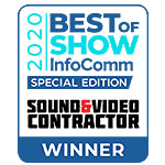 2020 Best of Show InfoComm Special Edition Award
