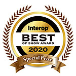 INTEROP Best of Show Award 2020 Special Prize (Industry Network)