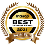 INTEROP Best of Show Award 2021 Special Prize (Management & Monitoring & Testing)