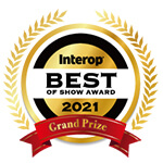 INTEROP Best of Show Award 2021 Grand Prize (Gadget)