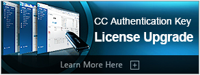 CC Authentication Key License Upgrade