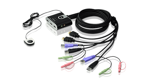 Switches KVM en formato cable