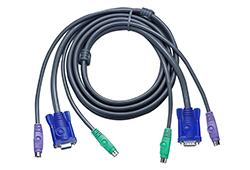 5M PS/2 Slim KVM Cable