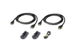 1,8 M USB HDMI Dual Display Secure KVM Kabel-Set