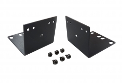 2/4-Port Dual Display Secure KVM Rack Montageset