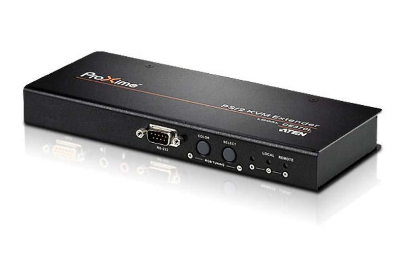 PS/2 VGA/Audio Cat 5 KVM Extender (1600 x 1200@150m)-2