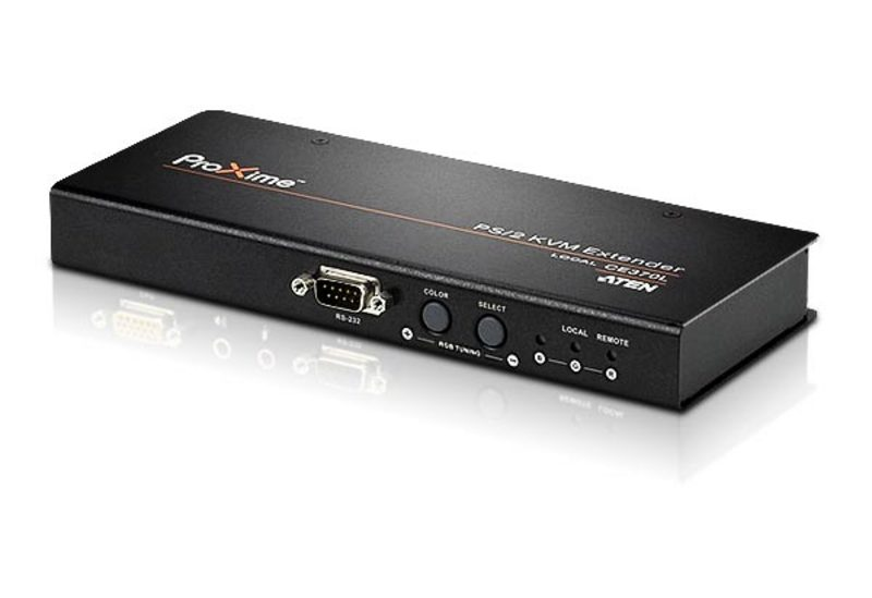 PS/2 VGA/Audio Cat 5 KVM Extender with Deskew (1280 x 1024@300m)-2