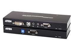 USB DVI Cat 5 KVM Extender (up to 1920 x 1200 @ 60 Hz)