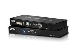 USB DVI Dual Link Cat 5 KVM Extender (up to 2560 x 1600 @ 60 Hz)