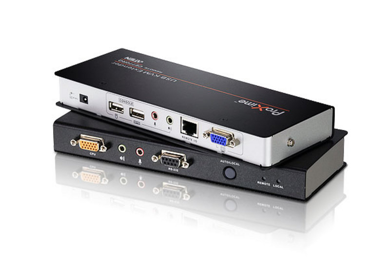 USB VGA/Audio Cat 5 KVM Extender with Deskew (1280 x 1024@300m)-1