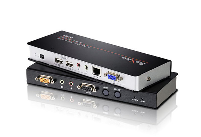 USB VGA Over IP KVM Extender (1920 x 1080@Unlimited Distance)