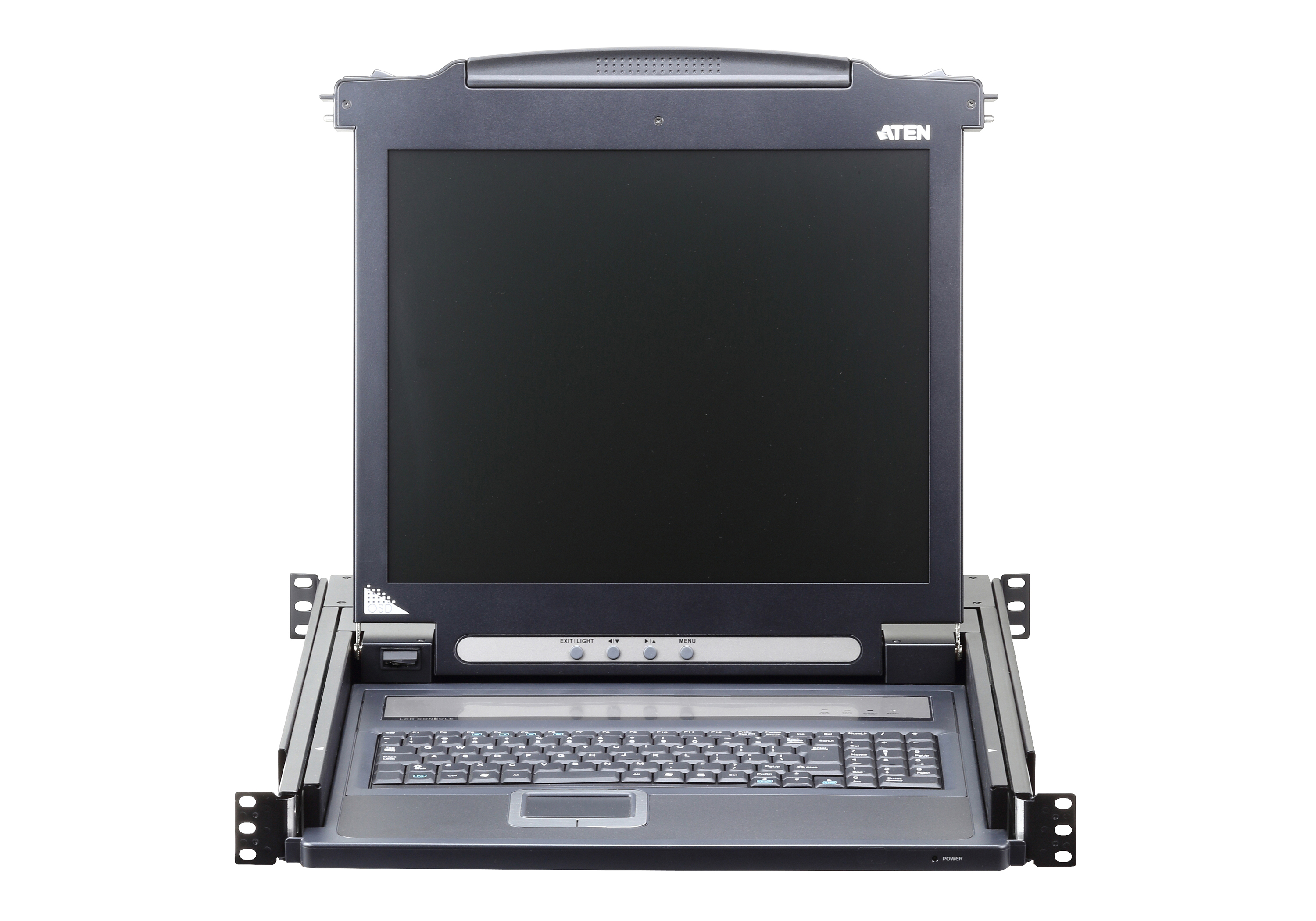 Single Rail LCD Console (PS/2-USB, VGA)-3