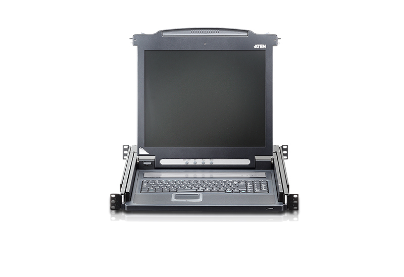 17 in. Single Rail LCD Console-3