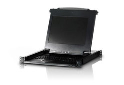 17in. Single Rail TAA Compliant LCD Console