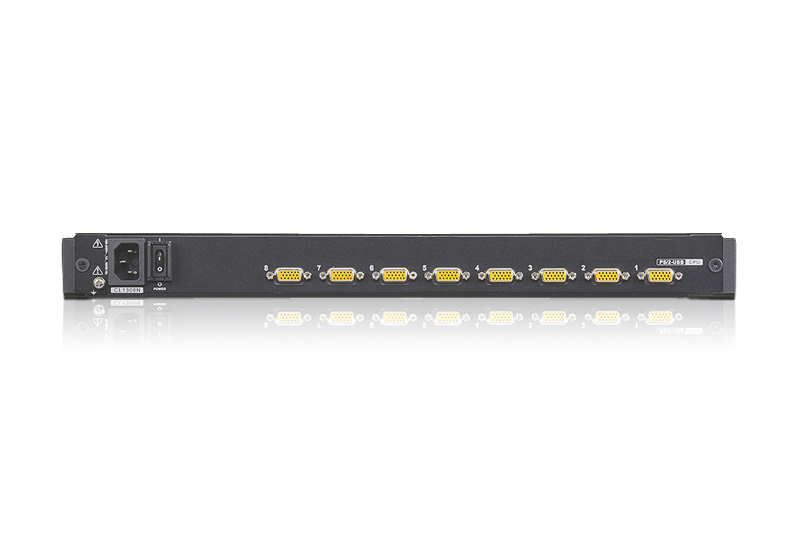 8-Port PS/2-USB VGA LCD KVM-switch-2