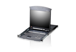 8-Port Slideaway™ 19 in. Single Rail LCD KVM