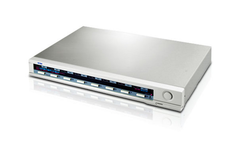 8-poorts PS/2 VGA KVM-switch