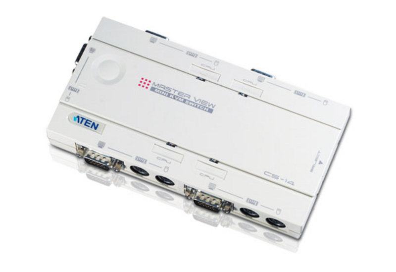 4-Port PS/2 KVM Switch-1
