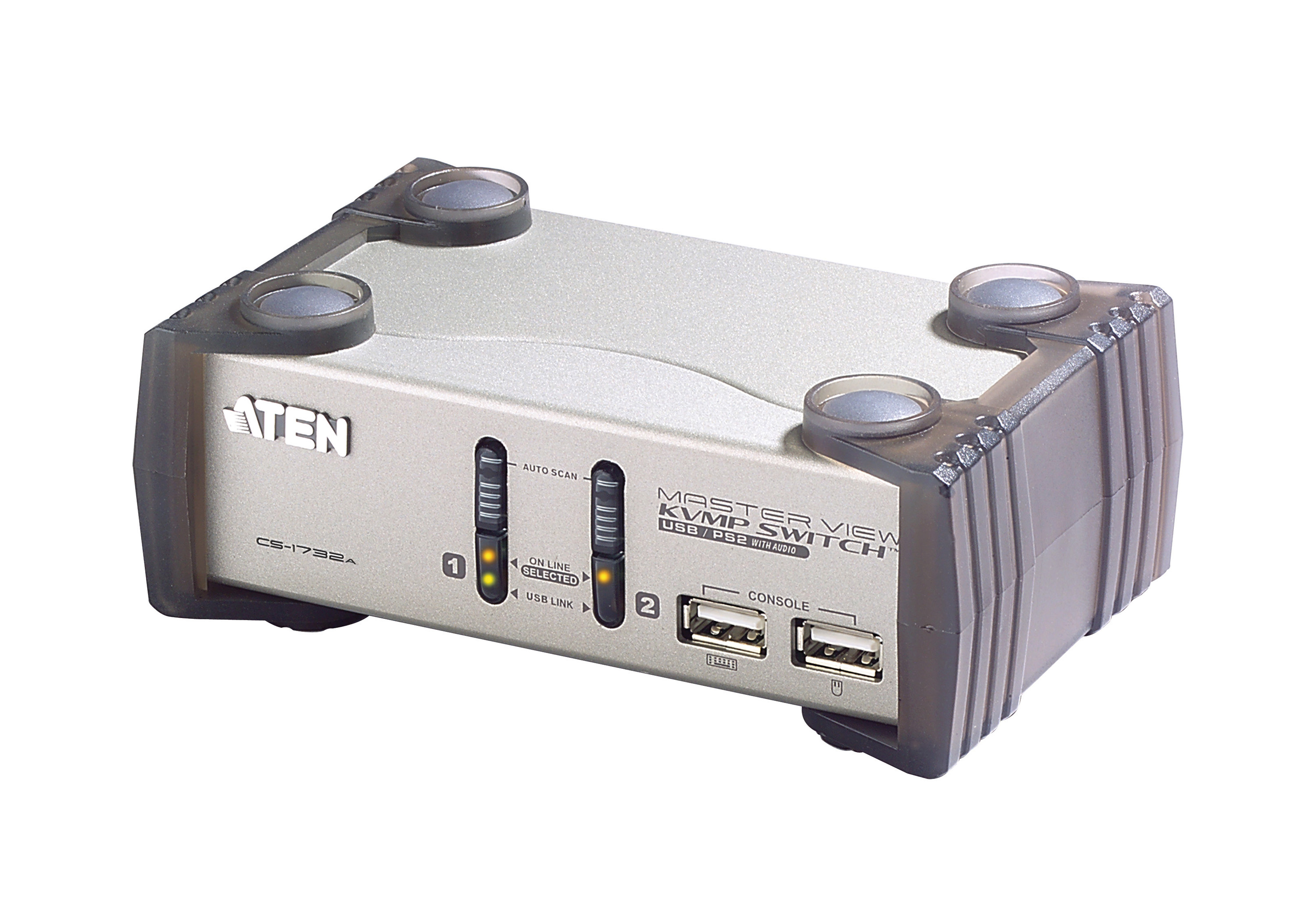 2-Port PS/2-USB VGA/Audio KVMP™ Switch-2