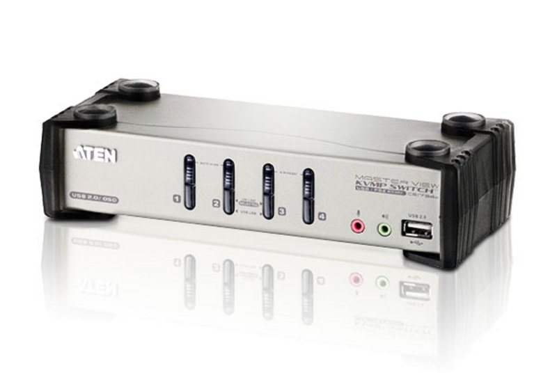 4-Port PS/2-USB VGA/Audio KVMP™ Switch with OSD-1