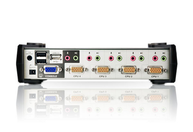 4-Port PS/2-USB VGA/Audio KVMP™ Switch with OSD-2