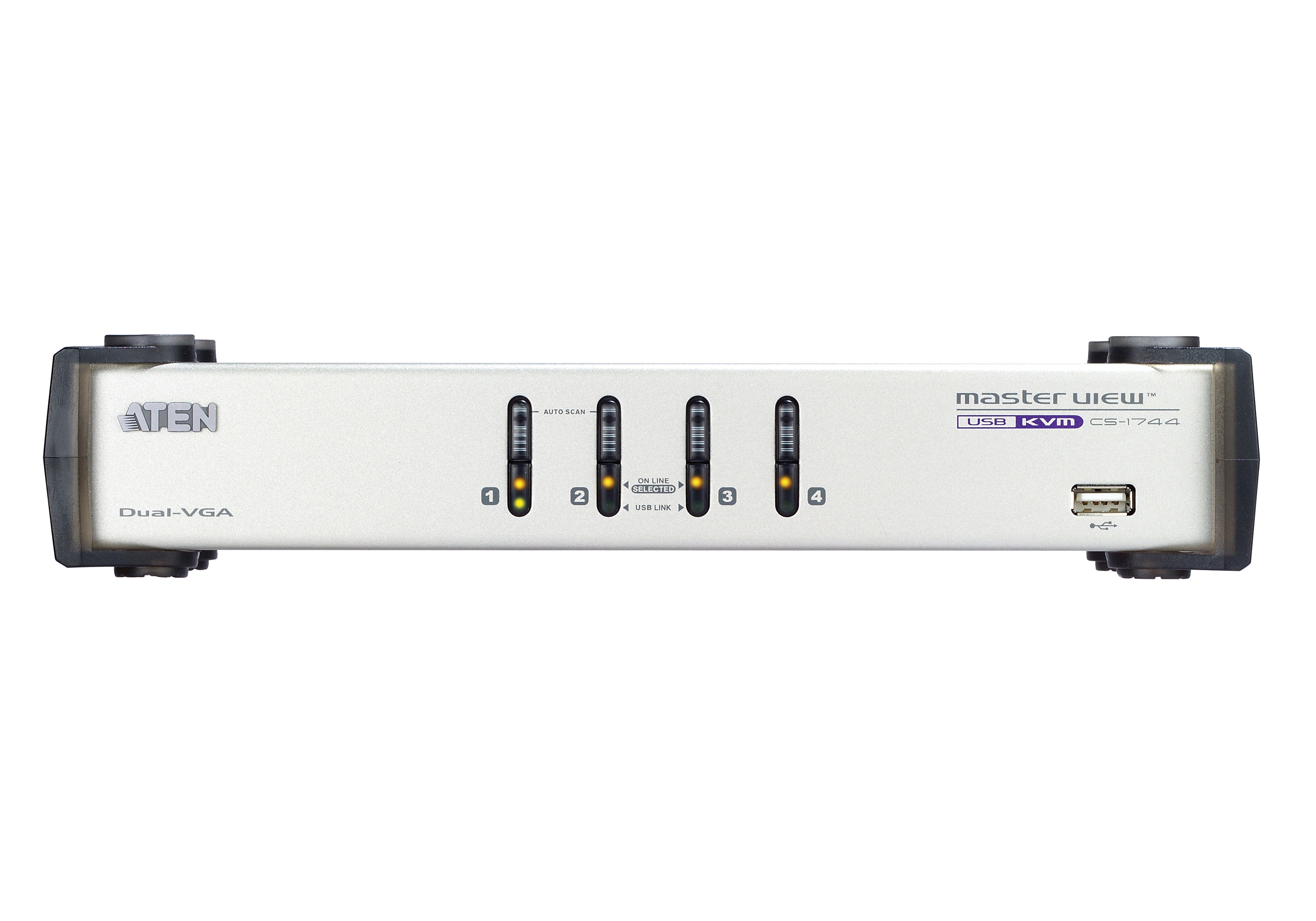 Switch KVMP™ VGA/Audio dual-display USB de 4 puertos-3