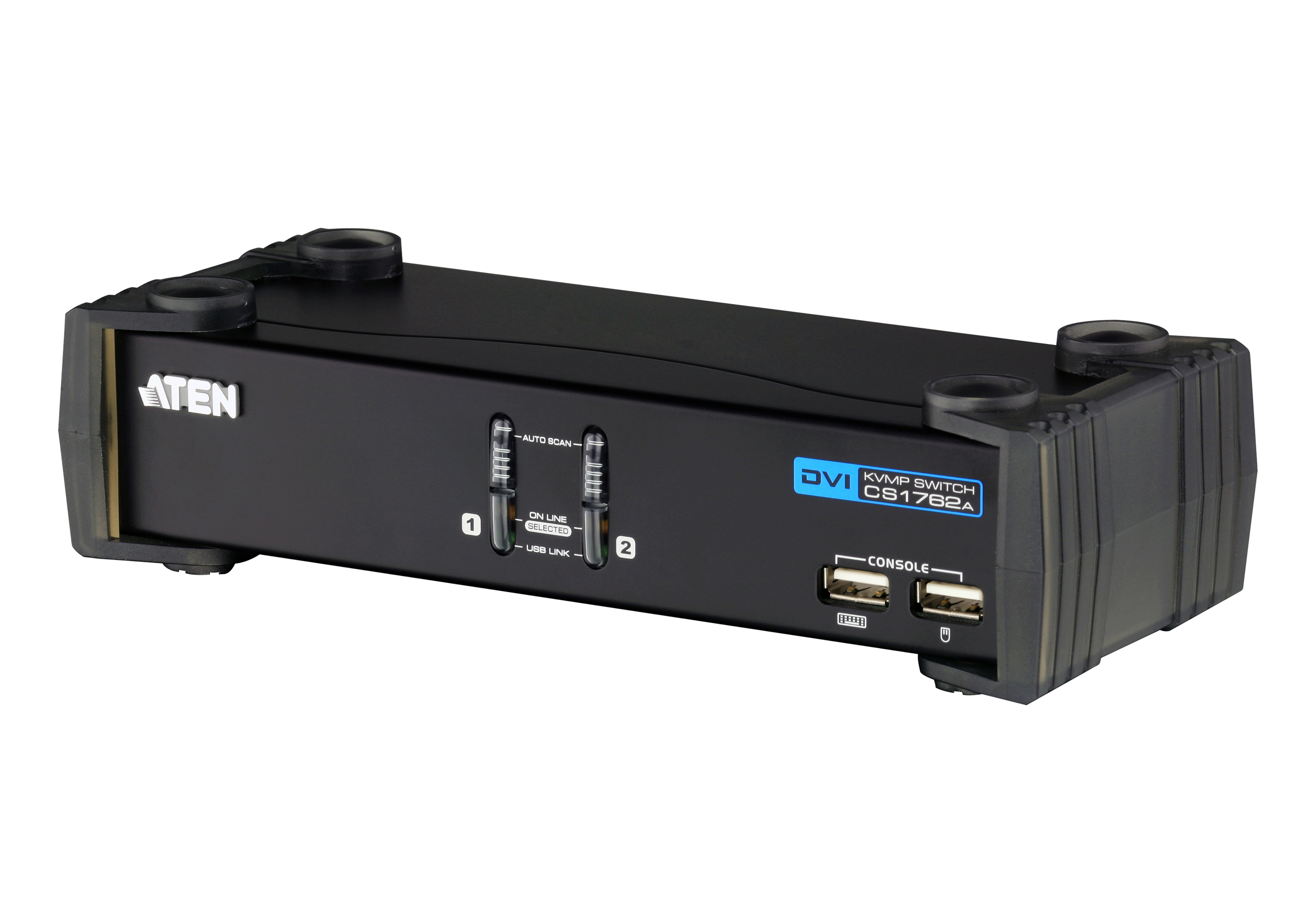 2-Port USB DVI/Audio KVMP™ Switch-1