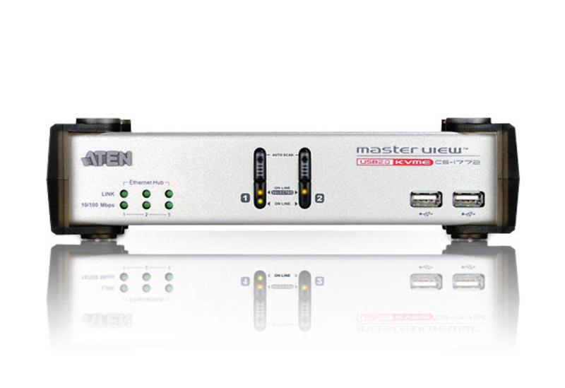 2-Port USB 2.0 KVME™ Switch-3